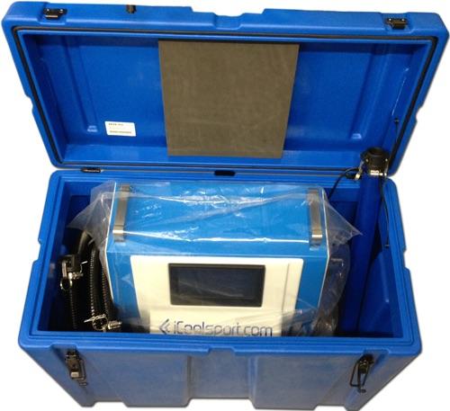 Hardcase koffer voor iCoolsport Compact ijsbad koelsysteem