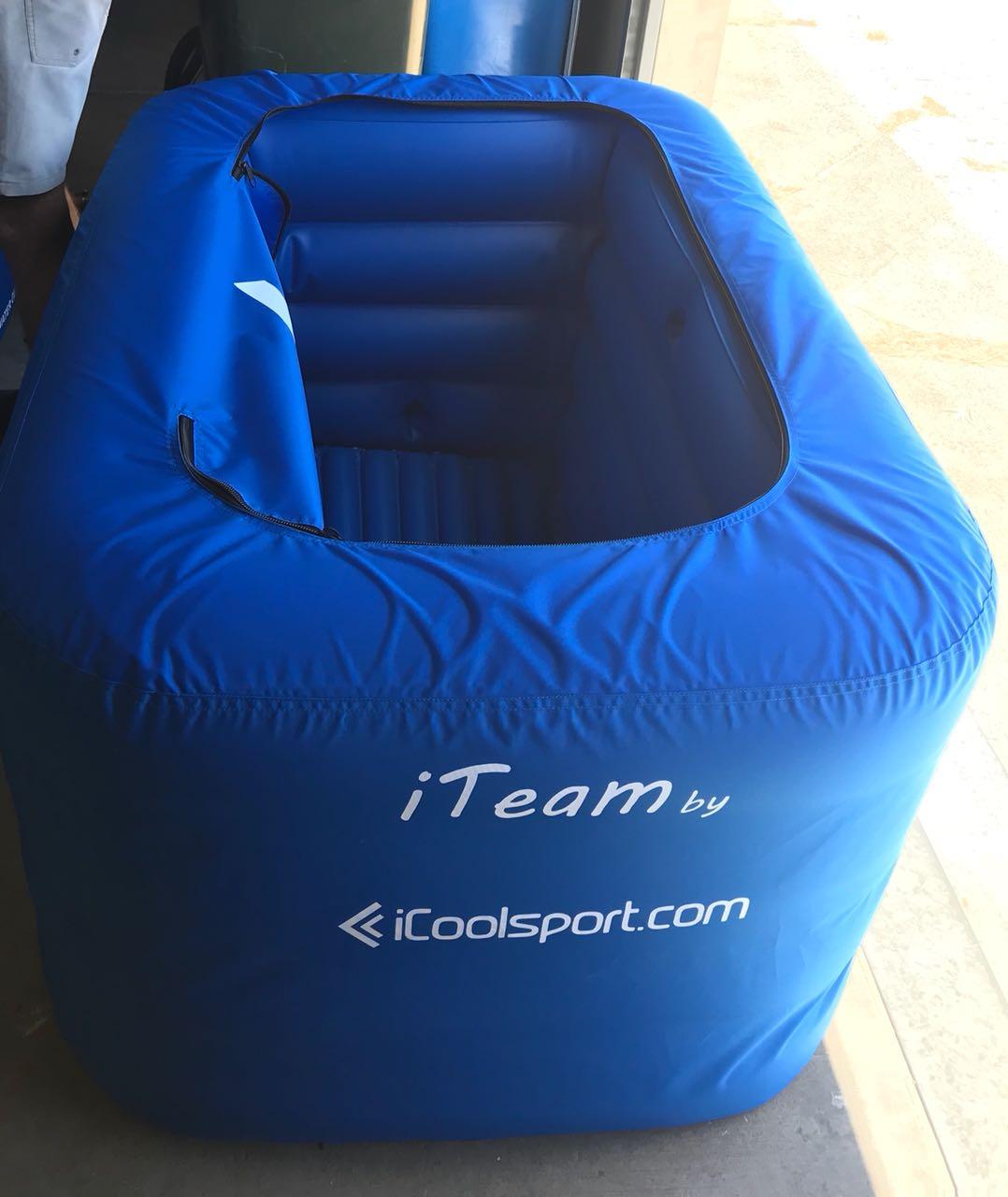 iTeam opblaasbaar ijsbad voor 4 personen hele lichaam